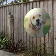 ronde tuinposter